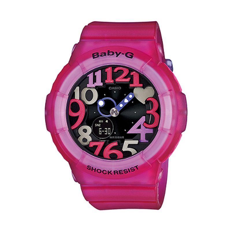 Casio Baby G BGA-131-4B4DR Pink Tua Jam Tangan Wanita