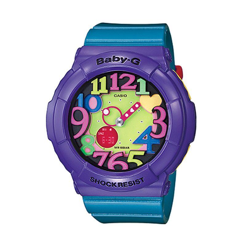 Casio Baby G BGA-131-6BDR Ungu Biru Jam Tangan Wanita