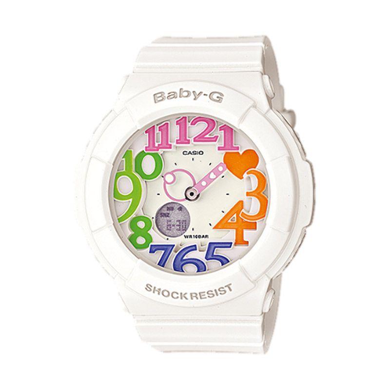 Casio Baby G BGA-131-7B3DR Putih Jam Tangan Wanita