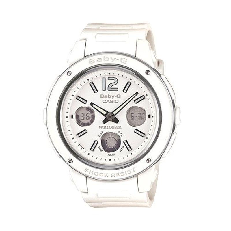 Casio Baby G BGA-150-7BDR Putih Jam Tangan Wanita