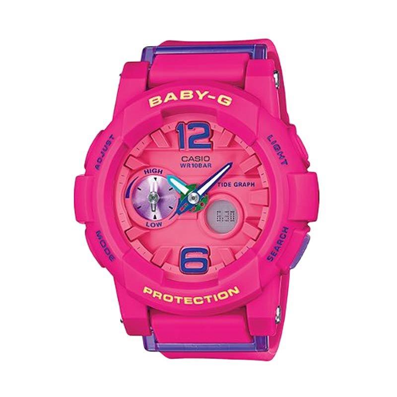 Casio Baby-G BGA-180-4B3DR Pink Jam Tangan Wanita