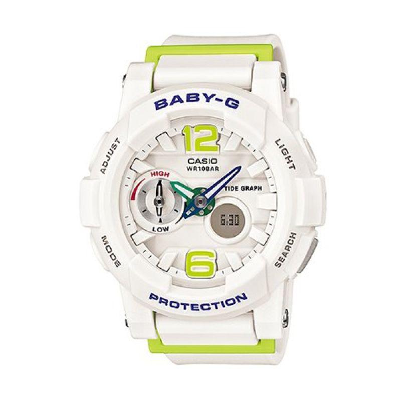 Casio Baby G BGA-180-7B2DR Putih Jam Tangan Wanita