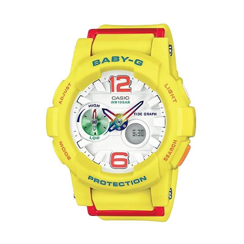 Casio Baby-G BGA-180-9BDR Kuning Jam Tangan Wanita