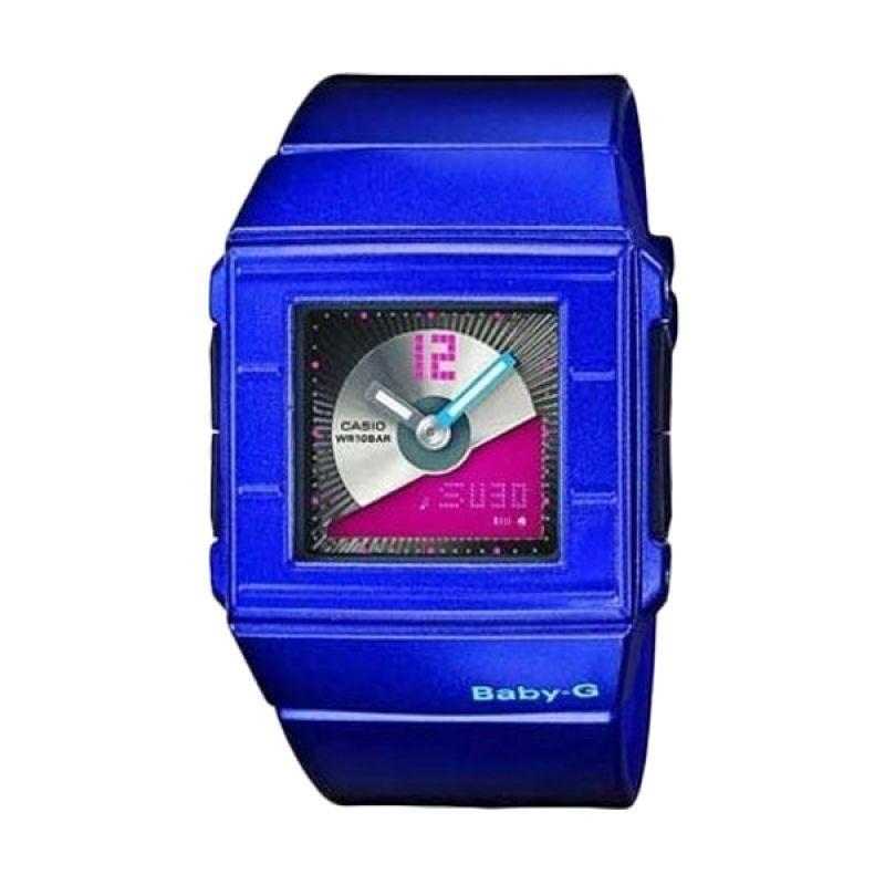 Casio Baby-G BGA-201-2EDR Deep Blue Jam Tangan Wanita
