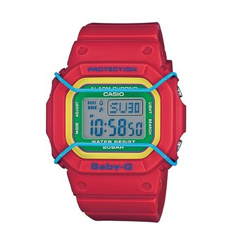 Casio Baby G BGD-501-4BDR Merah Jam Tangan Wanita