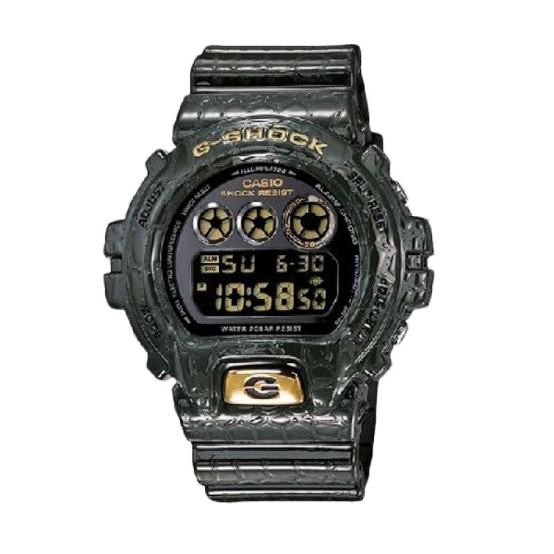 Casio G-Shock DW-6900CR-3DR Hijau Jam Tangan Pria