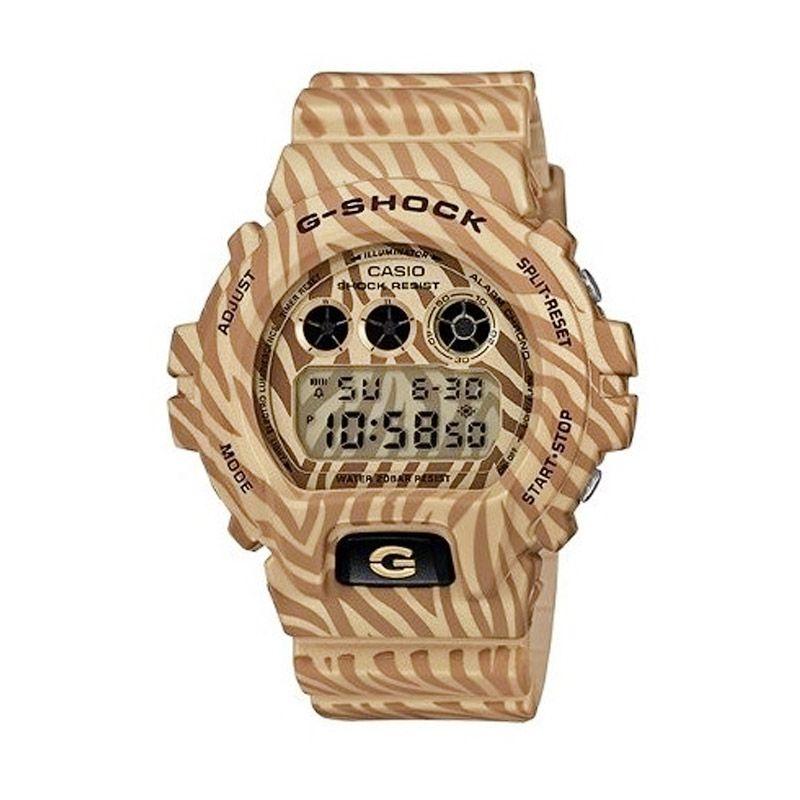 Casio G Shock DW-6900ZB-9DR Gold Jam Tangan Pria