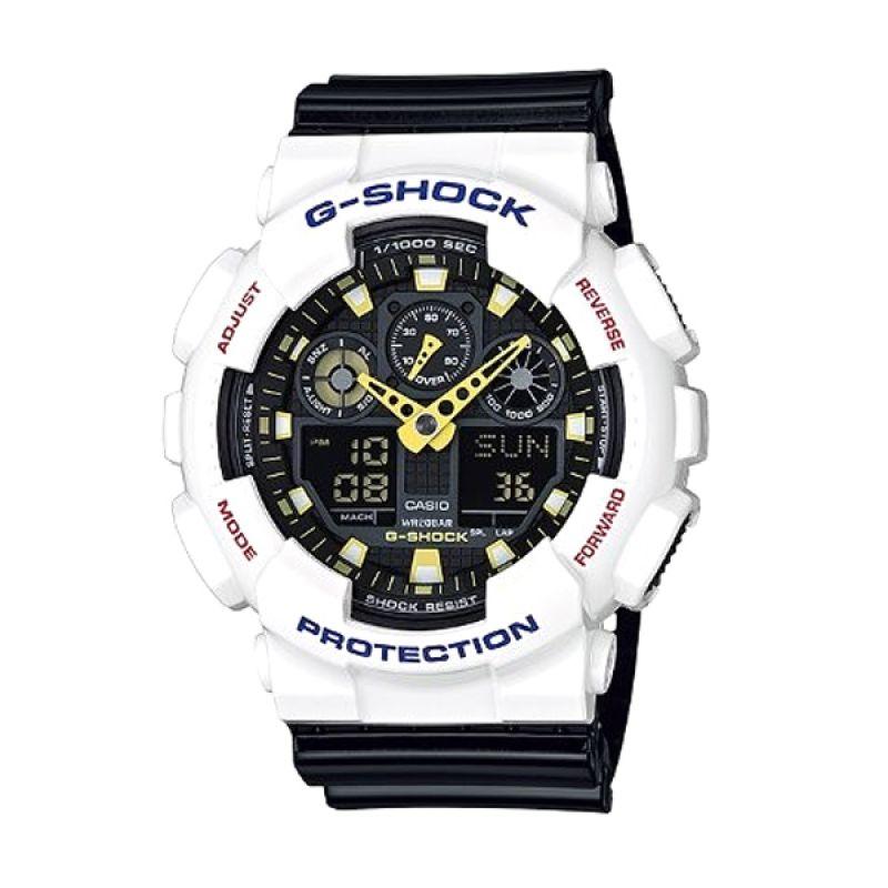 Casio G Shock GA-100CS-7ADR Jam Tangan Pria