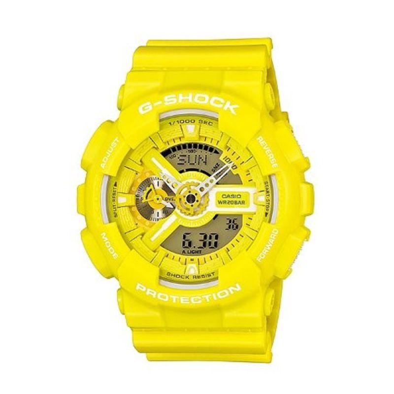 Casio G Shock GA-110BC-9ADR Kuning Jam Tangan Pria