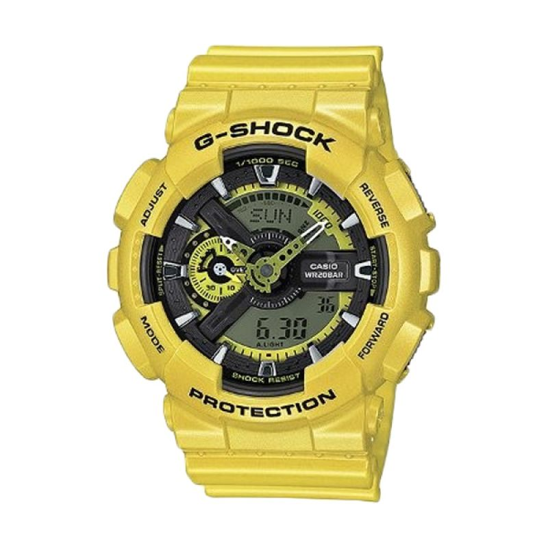 Casio G Shock GA-110NM-9ADR Kuning Jam Tangan Pria