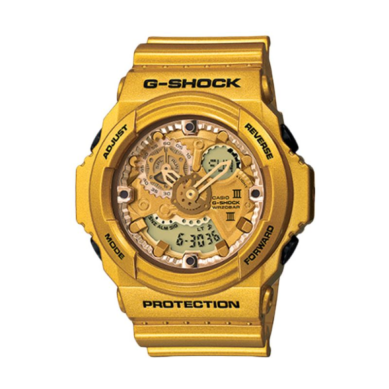 Casio G Shock GA-300GD-9ADR Gold Jam Tangan Pria