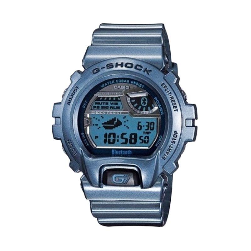 Casio G-Shock GB-6900AB-2DR Biru Jam Tangan Pria