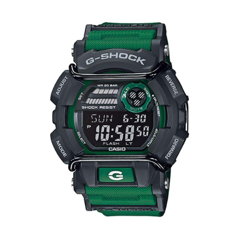 Casio G Shock GD-400-3DR Hijau Jam Tangan Pria