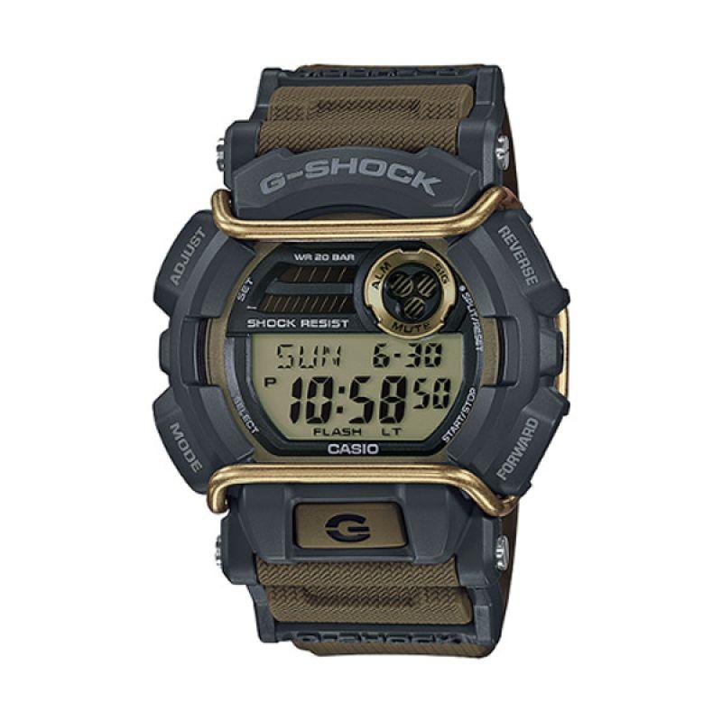 Casio G Shock GD-400-9DR Coklat Jam Tangan Pria