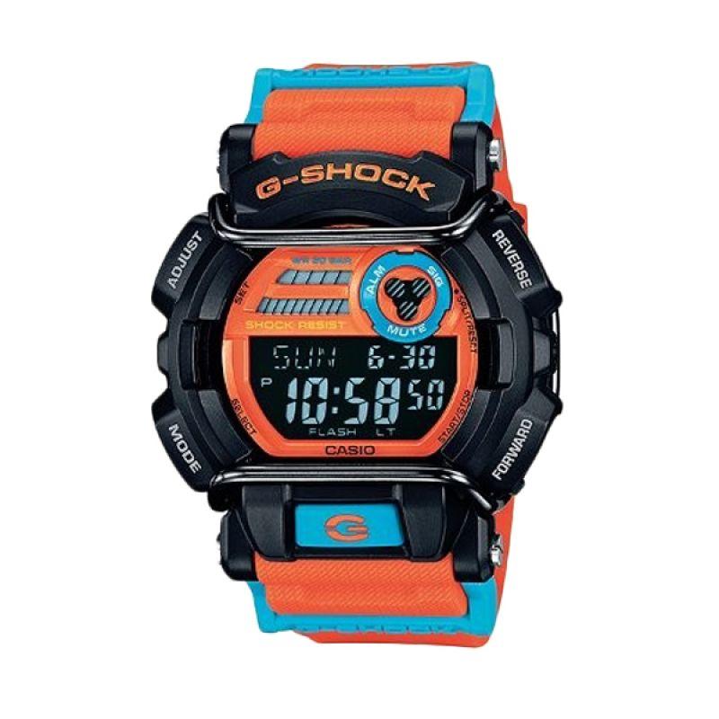 Casio G-Shock GD-400DN-4DR Orange Hitam Jam Tangan Pria