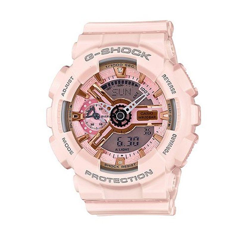 Casio G-SHOCK GMA-S110MP-4A1DR Pink Jam Tangan Pria