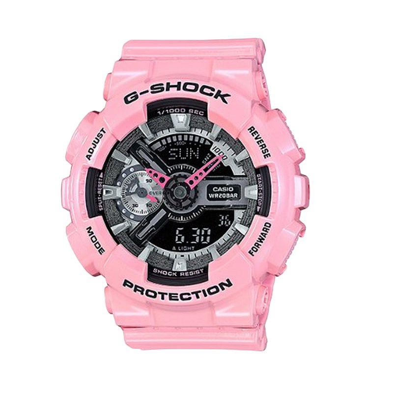 Casio G-Shock GMA-S110MP-4A2DR Pink Jam Tangan Pria