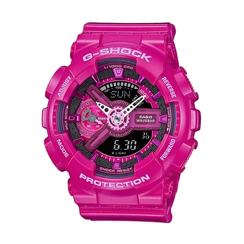 Casio G-Shock GMA-S110MP-4A3DR Dark Pink Jam Tangan Pria