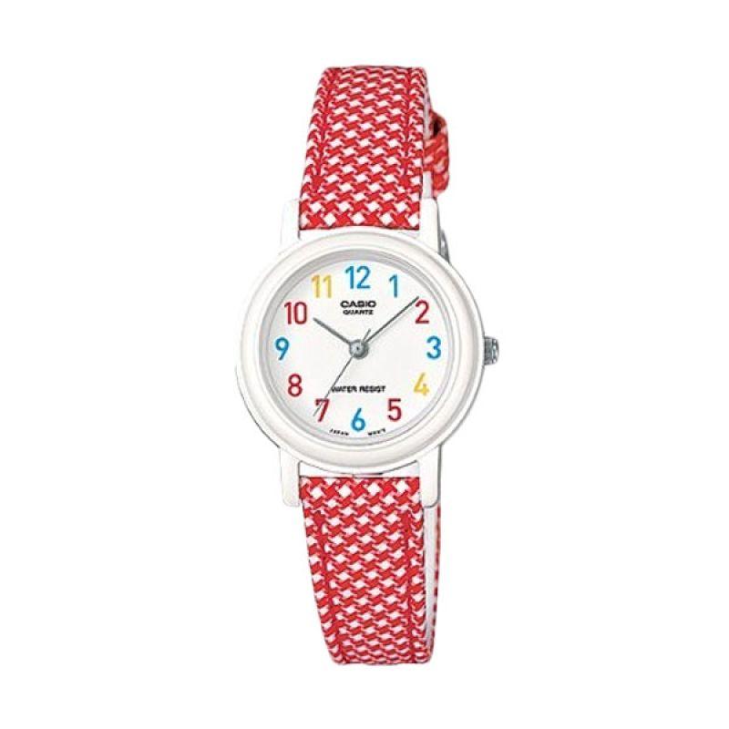 Casio LQ-139LB-4BDF Merah Jam Tangan Wanita