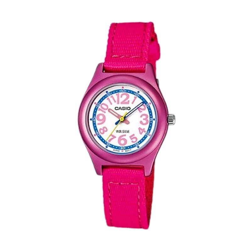 Casio LTR-19B-4B2VDF Pink Tua Jam Tangan Wanita