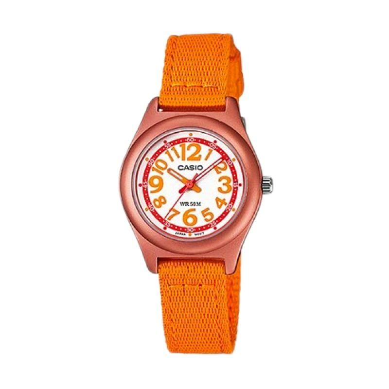 Casio LTR-19B-4B3VDF Orange Jam Tangan Wanita