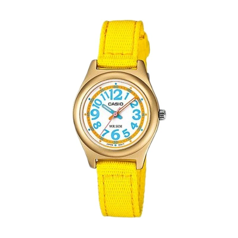 Casio LTR-19B-9BVDF Kuning Jam Tangan Wanita