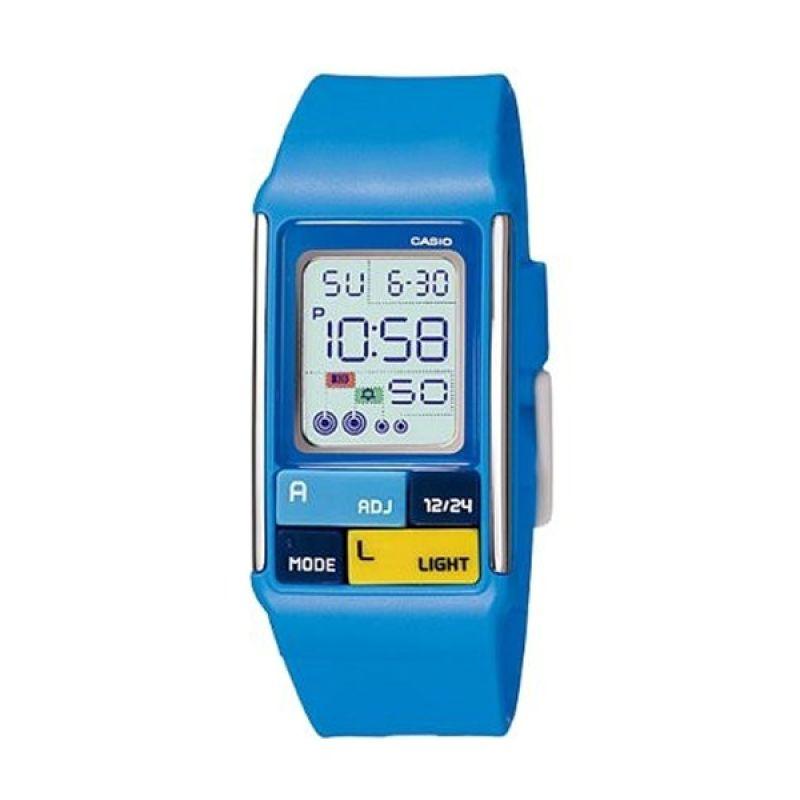Casio Poptone LDF-50-2DR Jam Tangan Wanita