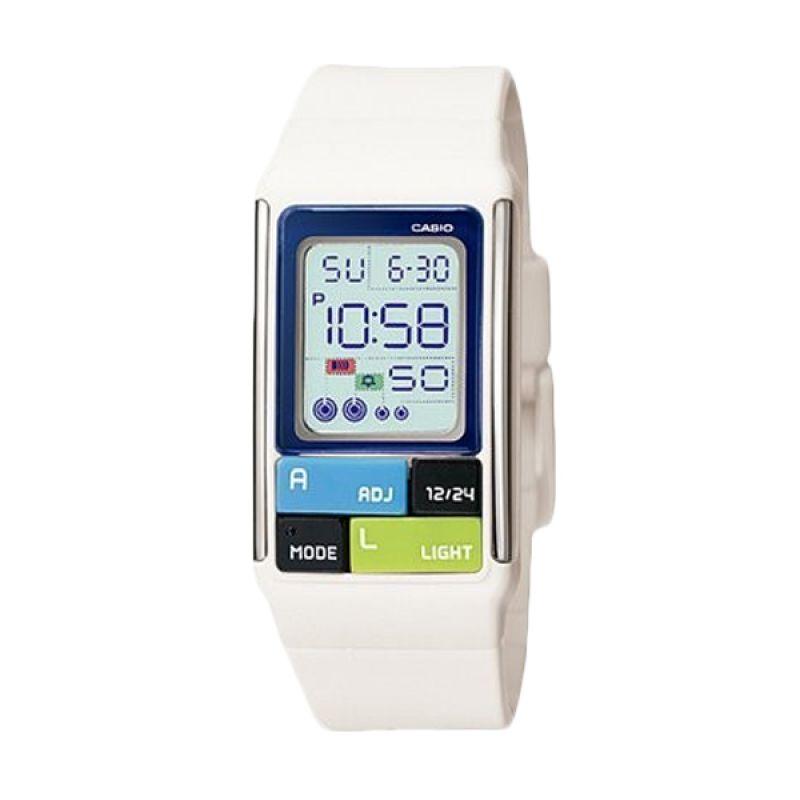 Casio Poptone LDF-50-7DR Putih Jam Tangan Wanita