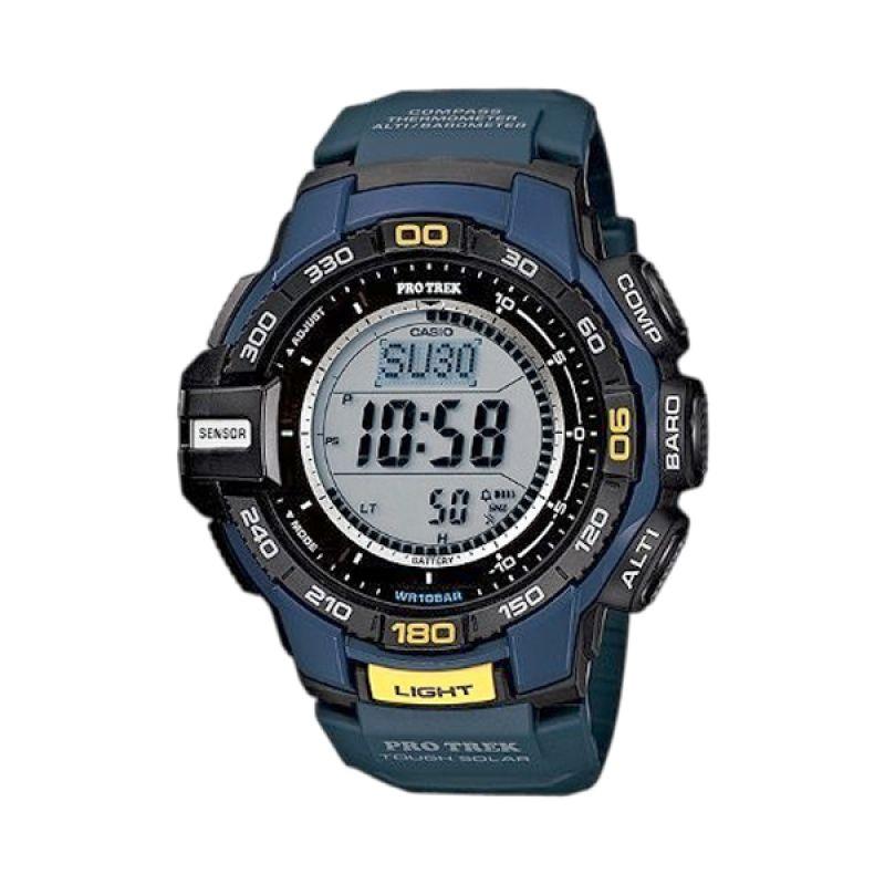 Casio Protrek PRG-270-2DR Biru Jam Tangan Pria