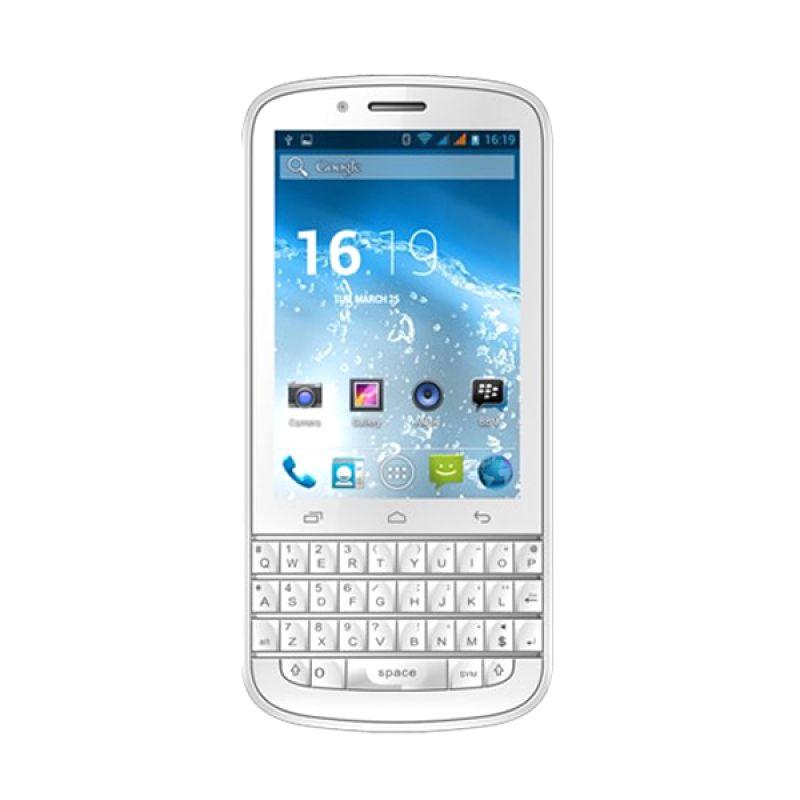 Evercoss A10Q Putih Smartphone [Garansi Resmi]