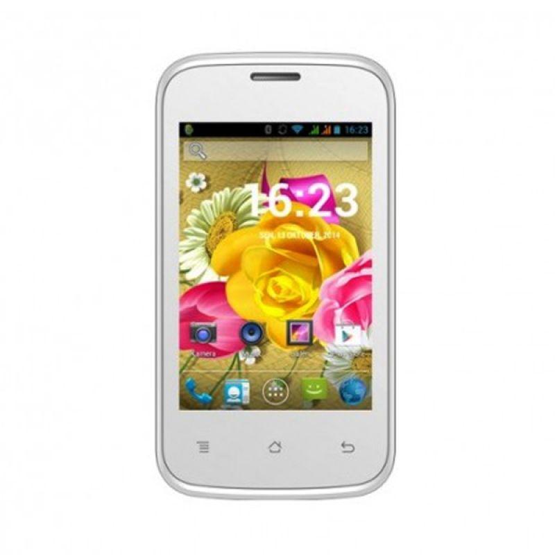 Evercoss A33A Hijau Smartphone [Dual SIM]