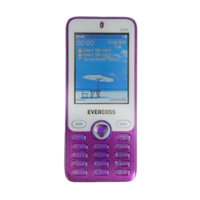 Evercoss C2A Ungu Handphone