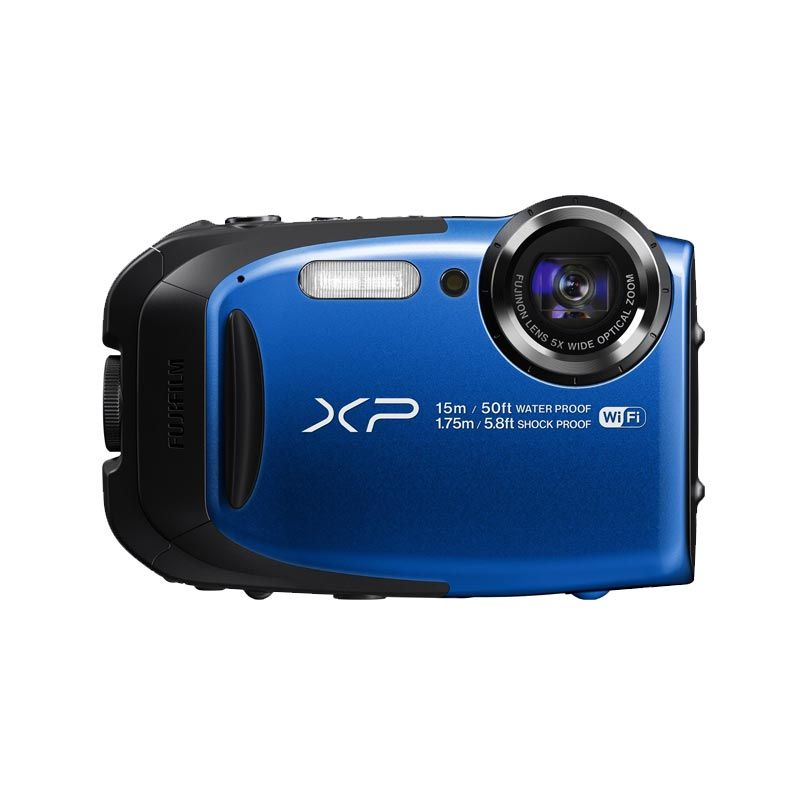 Fujifilm FinePix XP80 Biru Kamera Pocket