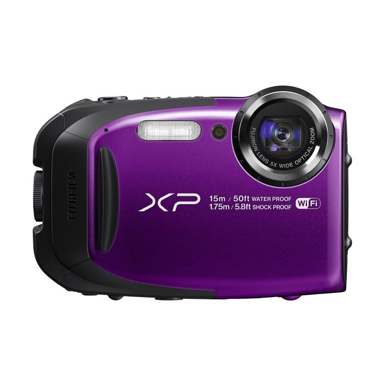 Fujifilm FinePix XP80 Ungu Kamera Pocket