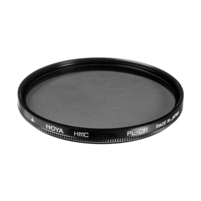 Hoya 52mm Circular Polarizer HMC Hitam Filter Lensa Kamera