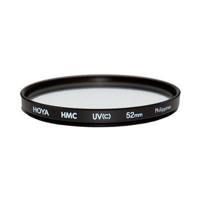 Hoya 52mm UV HMC Hitam Filter Lensa