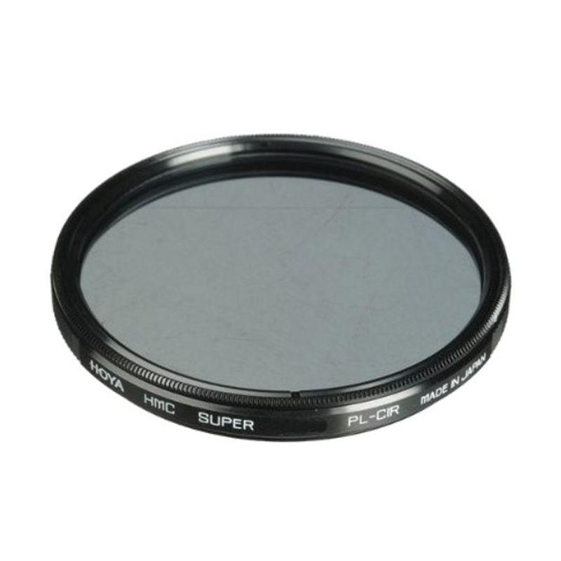 Hoya 55mm Circular Polarizer HMC Hitam Filter Lensa Camera