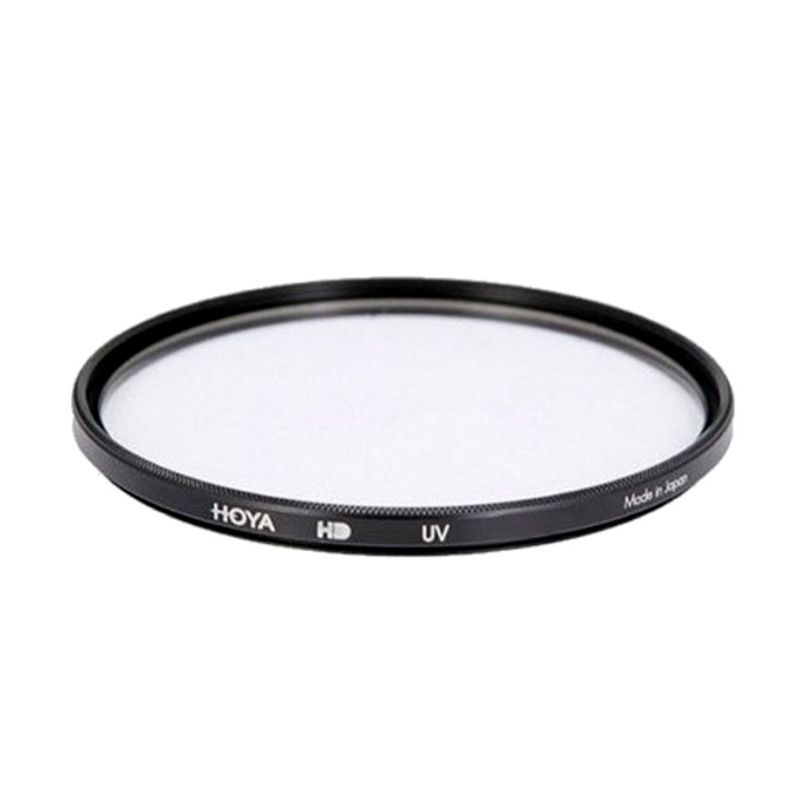 Hoya 55mm UV HD Hitam Filter Lensa Camera