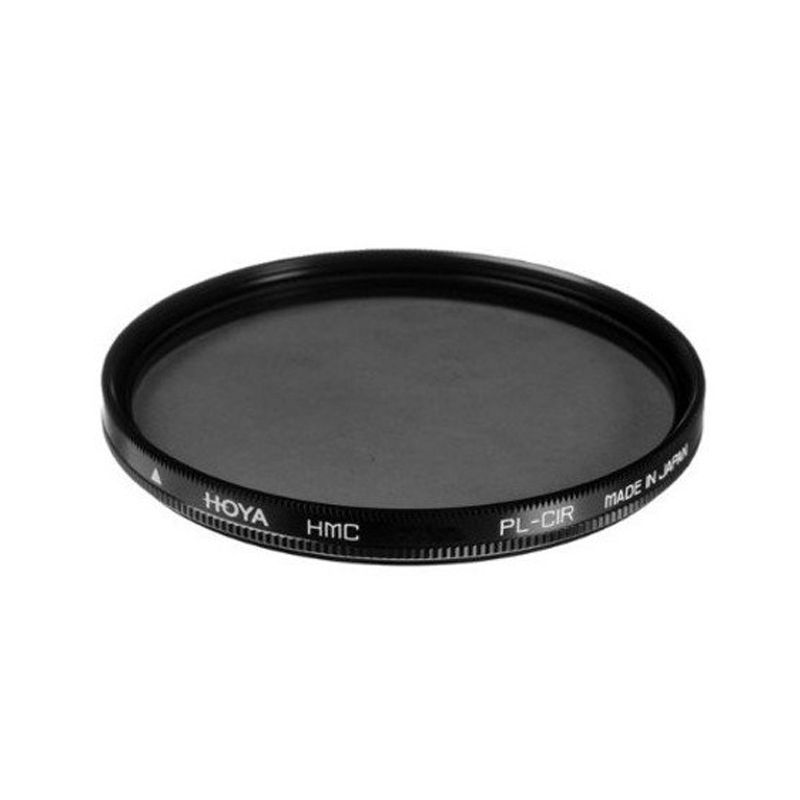 Hoya 62mm Circular Polarizer HMC Hitam Filter Lensa Camera