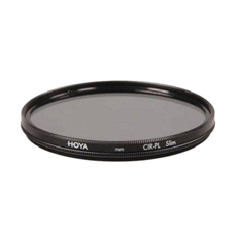 Hoya 67mm CPL Slim Hitam Filter Lensa Camera