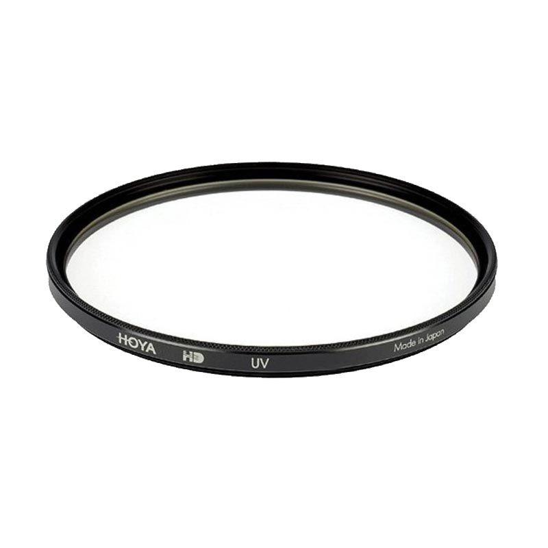 Hoya 82mm UV HD Hitam Filter Lensa Kamera