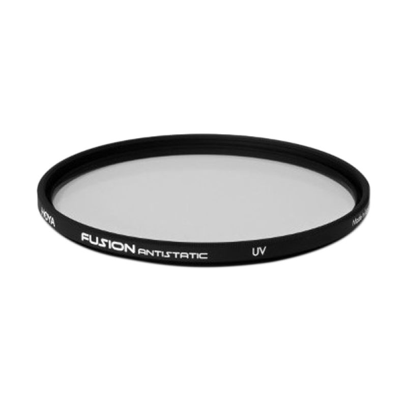 Hoya Fusion Antistatic UV 46 mm Black Filter Lensa