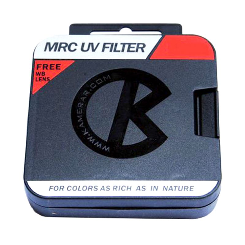 Kamerar MRC UV 82 mmFilter Lensa