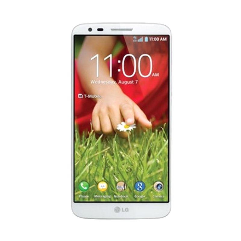 LG G2 D802 Putih Smartphone [32GB]