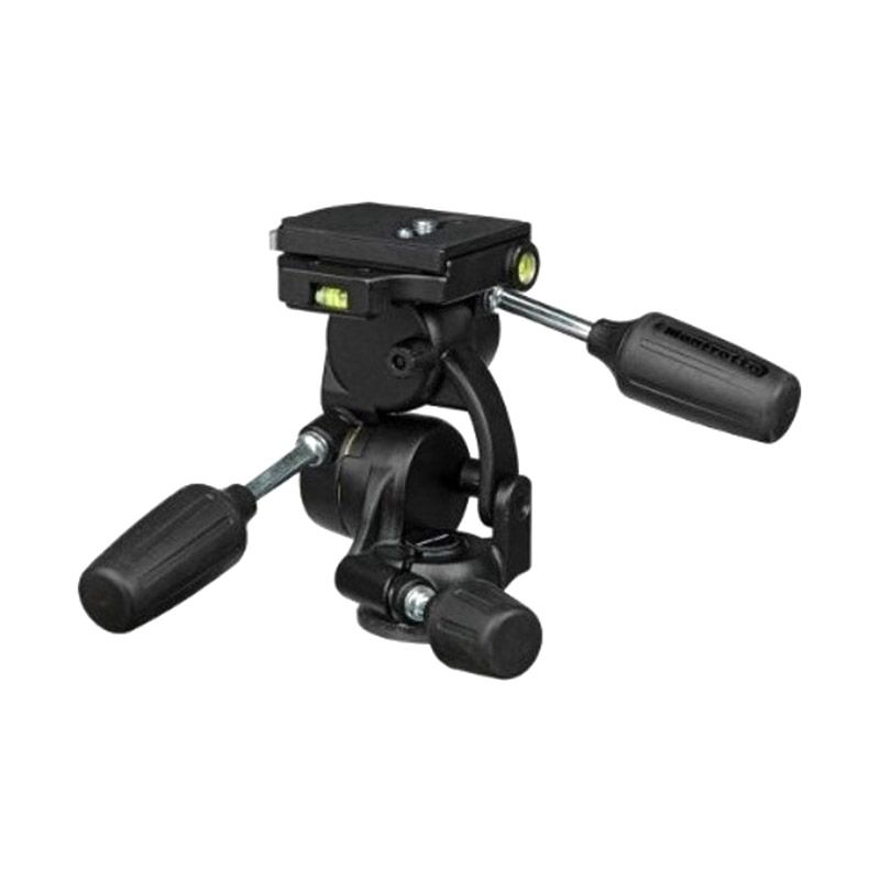 Manfrotto Standard 3 Way 808RC4 Hitam Ball Head