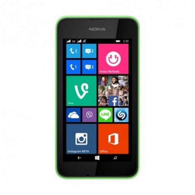 Nokia Lumia 530 Hijau Smartphone [Dual SIM]