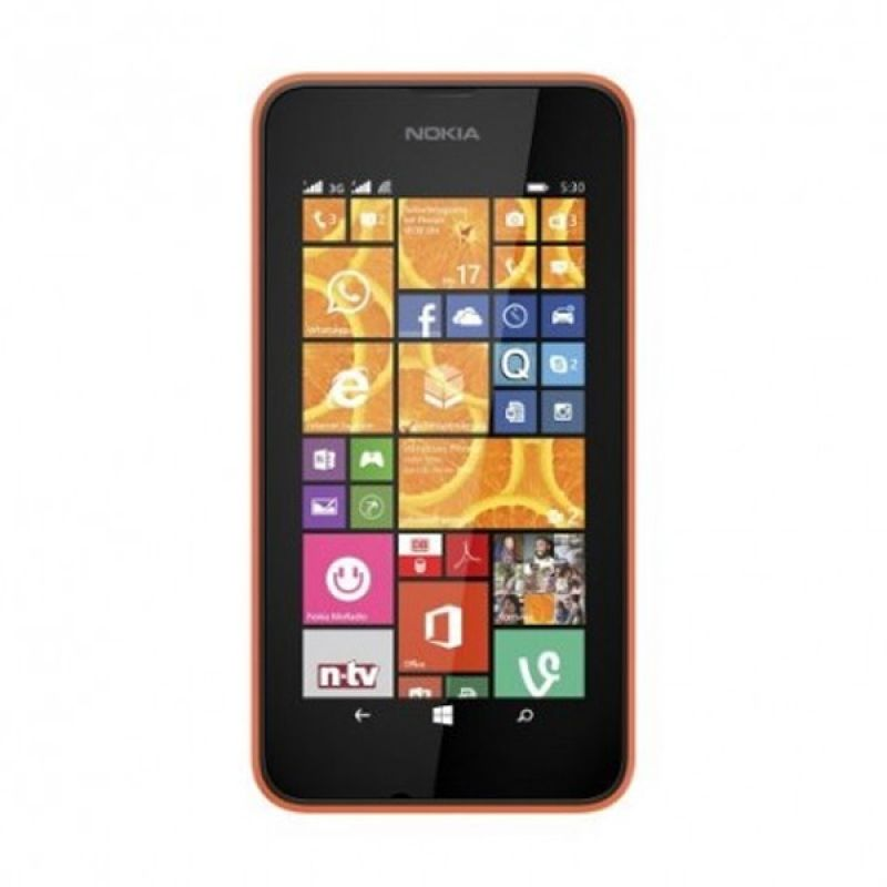 Nokia Lumia 530 Orange Smartphone [Dual SIM]