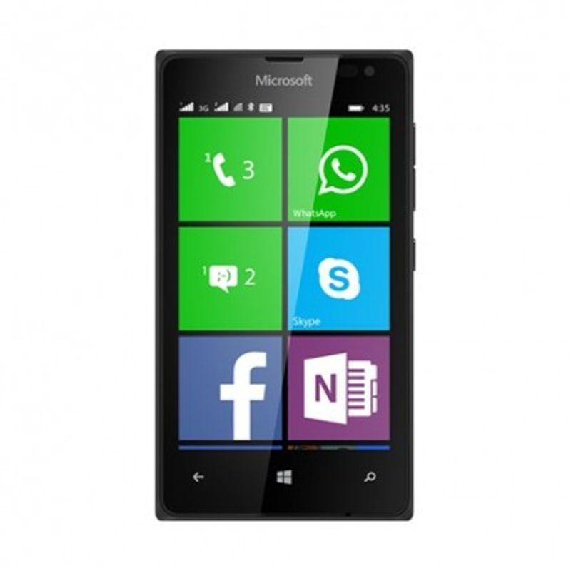 Microsoft Lumia 532 Hitam Smartphone [Dual SIM/8 GB]