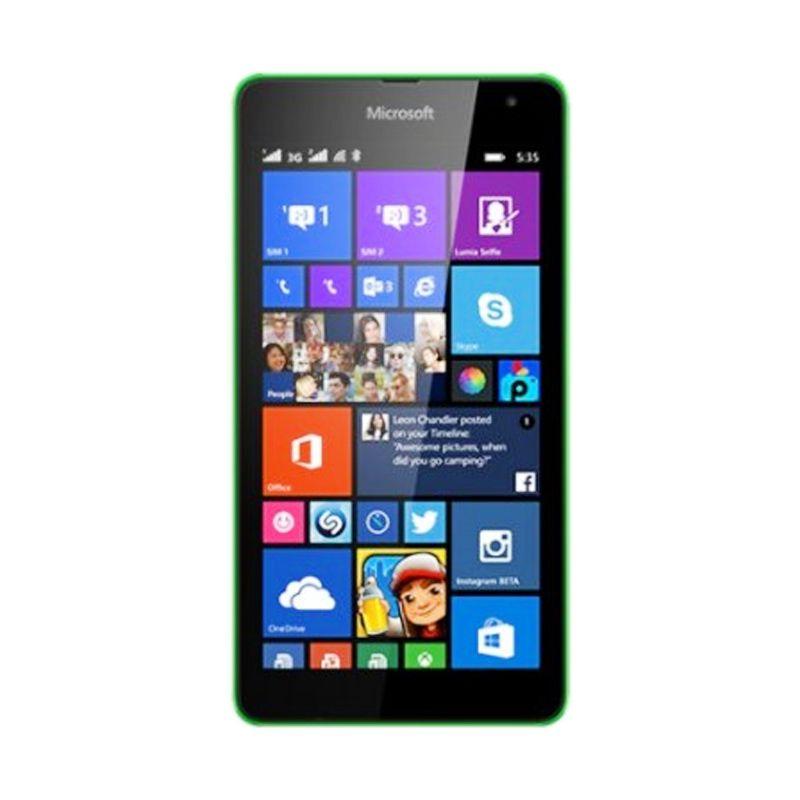 Microsoft Lumia 535 Hijau Smartphone [Dual SIM/8 GB]