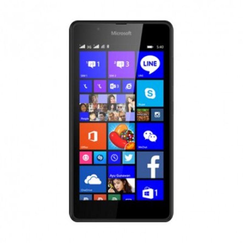 Microsoft Lumia 540 Hitam Smartphone [Dual SIM]